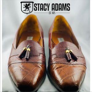 Stacy Adams -Santana Moc Toe Tassal Loafers-11M